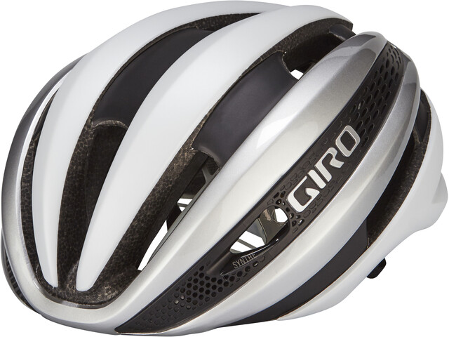 Giro Synthe MIPS Kask rowerowy, matte white/silver